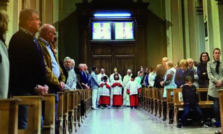 Accolte a Cene le reliquie di Santa Faustina