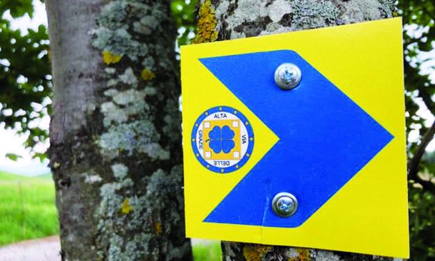 """Il """"Cammino dell'Alta Via delle Grazie"""" è """"Cammino di pellegrinaggio"""". Tappe nei santuari di Albino e della Valle del Lujo"""