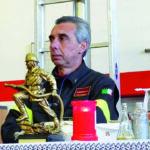 MANUELO CHIODI, Capo-Distaccamento dei Vigili del Fuoco di Gazzaniga