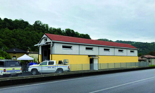 Pronta la sede del Corpo Volontari Protezione Civile A.I.B.
