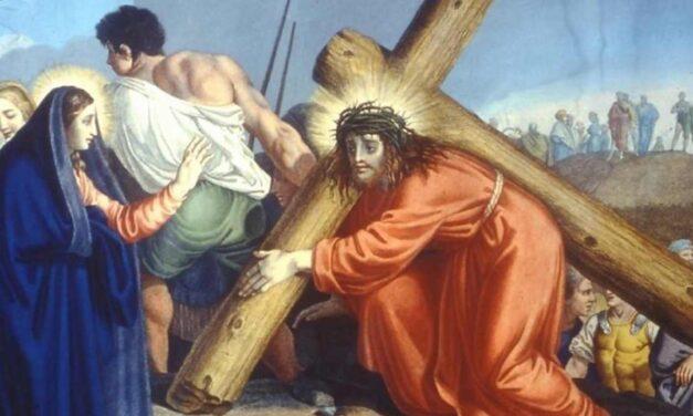 A Vall'Alta, l'emergenza sanitaria riporta in chiesa la Via Crucis